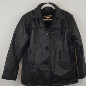 Tudor Court Genuine Leather Jacket